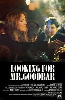 Movie poster for Looking for Mr. Goodbar.